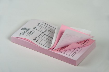 NCR forms sample for Printing Plus Lancaster