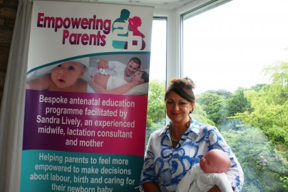Empowering parents photo testimonial for Printing Plus Lancaster & Kendal