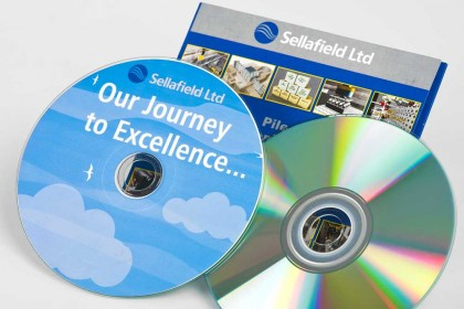 DVD samples for Printing Plus Lancaster