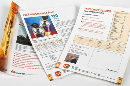 Data Sheet sample for Printing Plus Lancaster