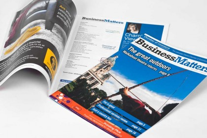 Business Matters samples for Printing Plus Lancaster