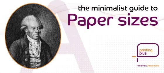 paper sizes blog