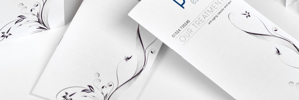Printed Price Lists samples for Printing Plus Lancaster