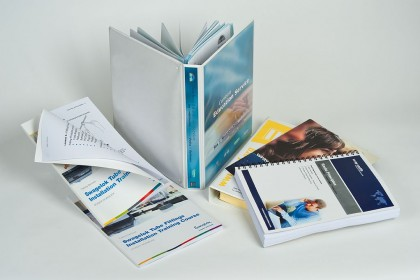training manual printing samples for Printing Plus Lancaster - http://www.wraycastle.com/